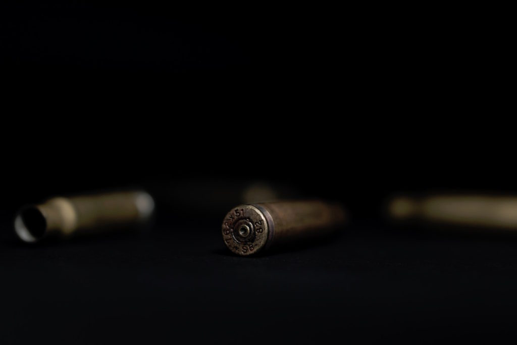 Used Rifle Casing
