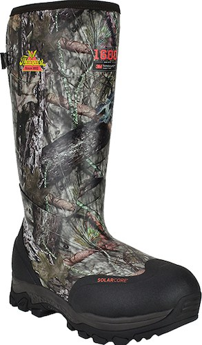 Men's Thorogood 17 Waterproof & Insulated Rubber Hunting Work Boot best rubber hunting boots